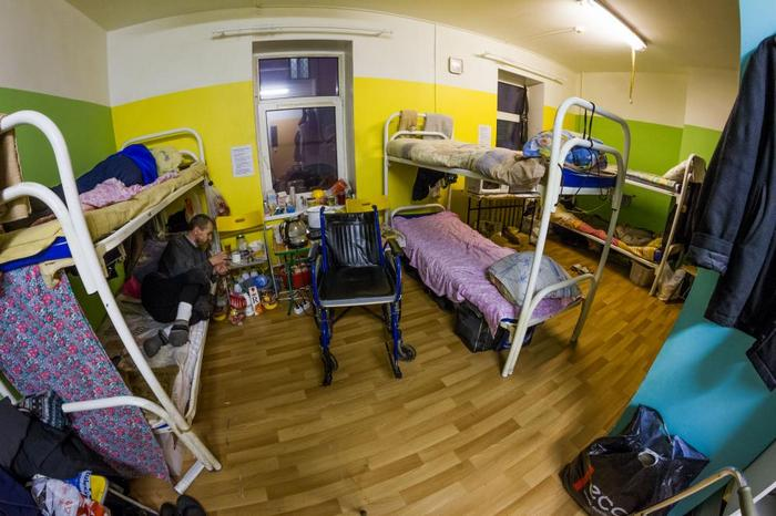 Приют «Ночлежки» на Боровой. Фото: homeless.ru