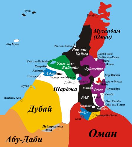 Emirats-russian