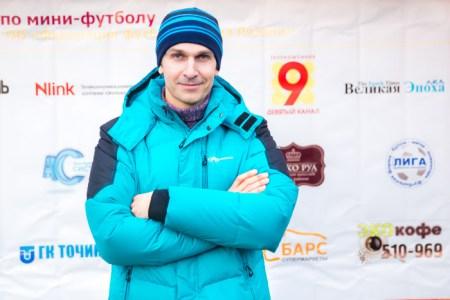 Михаил Жарков, один из руководителей кубка РКЛФ по мини-футболу. Фото: Сергей Лучезарный/Великая Эпоха