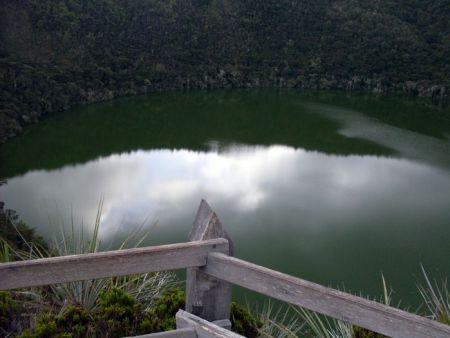 Озеро Гуатавита Фото: Maite Garcia/wikipedia/GFDL