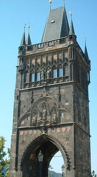 Восточная мостовая башня (Староместская). Фото: commons.wikimedia.org/CC BY-SA 1.0