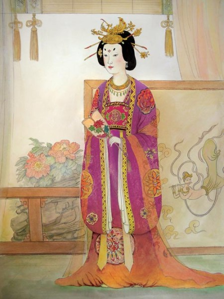 Чжансунь, императрица династии Тан. Фото: Taste of Life