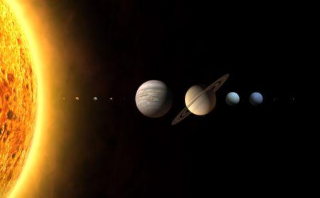 Солнечная система. Фото: NASA