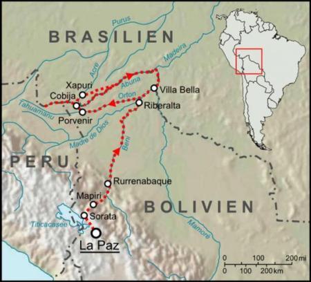 Один из маршрутов Перси. Фото:Lencer/wikipedia.org/CC BY-SA 3.0