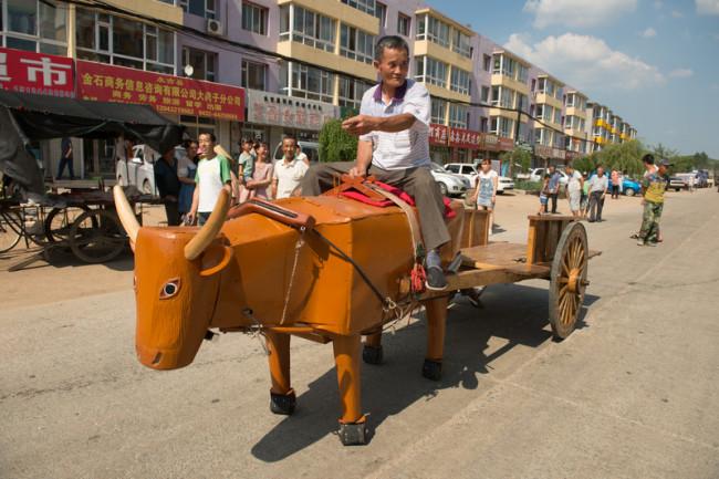 8 июля 2015 года. Город Цзилинь одноимённой провинции. Фото: epochtimes.com
