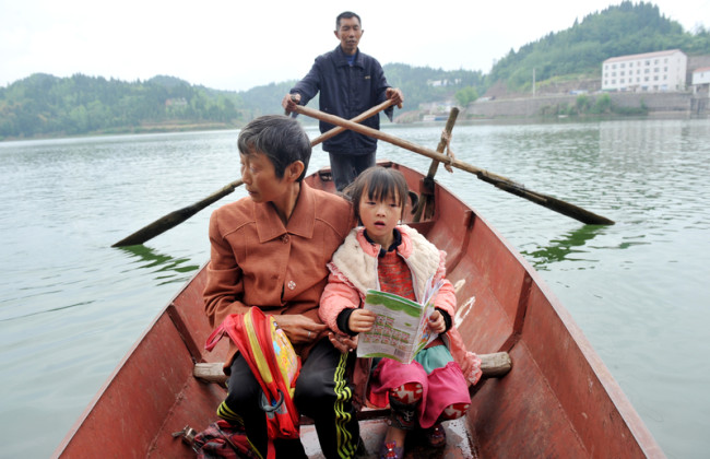 23 апреля 2015 год. Город Гуанъань провинции Сычуань. Фото epochtimes.com