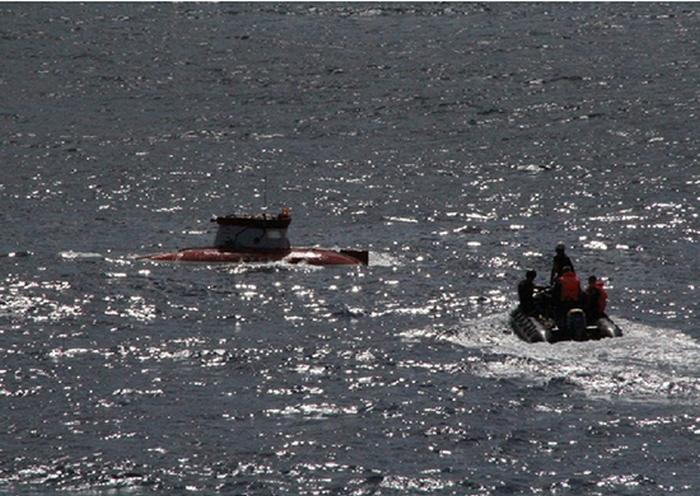 Россия, Минобороны, глубоководное судно Русь, океанографическое судно Янтарь, испытания