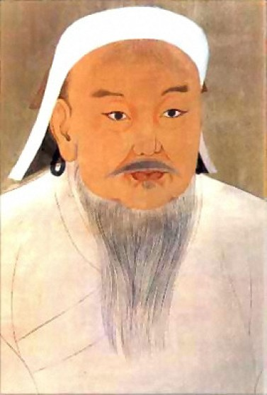 Портрет Чингисхана, неизвестный придворный художник. Фото: Public Domain/ Wikimedia Commons
