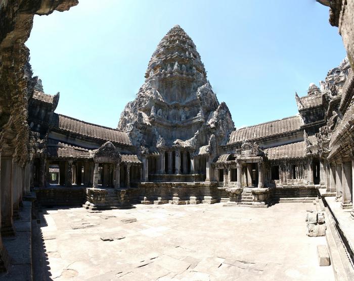 Верхняя галерея Ангкор-Вата. Фото: Deanpemberton/wikipedia.org/CC BY-SA 3.0