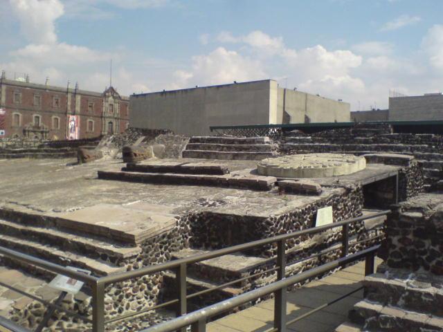 Современное состояние пирамиды Уицилопочтли. Фото: Lobato62/wikipedia.org/GFDL