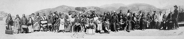 Калифорнийские индейцы, 1916 год. Фото: wikipedia.org/ public domain