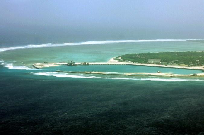 ЗРК в Южно-Китайском море