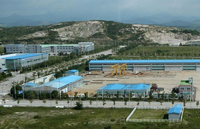 Промышленный комплекс Кэсон. Фото: Lee Seung-Hwan-Korea Pool/Getty Images