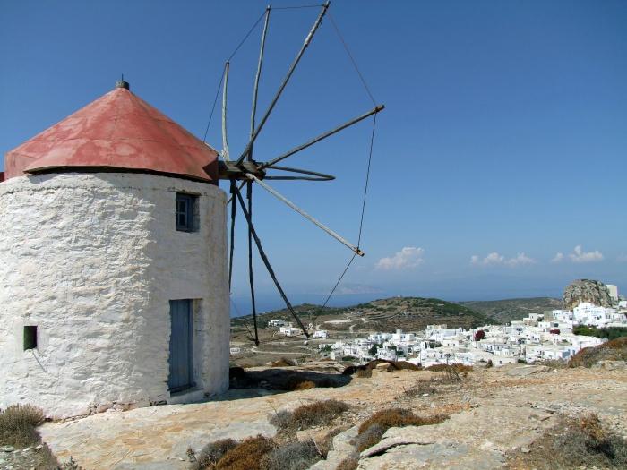 Старинная мельница на острове. Фото: Laborratte/pixabay.com/CC0 0.1