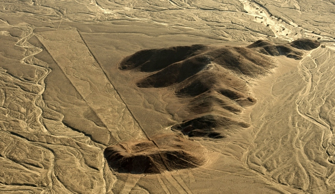 Фигуры на плато Наска. Фото: MARTIN BERNETTI/AFP/Getty Images