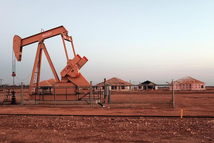 Сланцевая добыча нефти в штате Техас. Фото: Spencer Platt/Getty Images