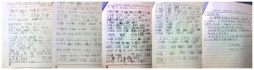 Петиция с призывом освободить Чжао. Фото: Minghui.org