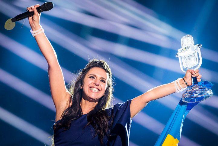 Победительница конкурса «Евровидение-2016» украинская певица Джамала. Фото: Michael Campanella/Getty Images