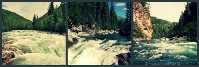 Непутевая река Казыр