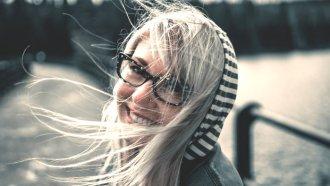 счастье, улыбка, девушка