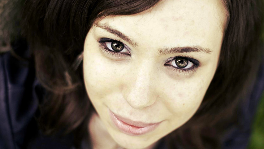 лицо, девушка, глаза