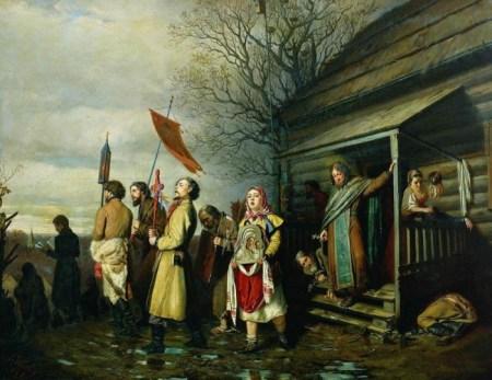 «Cельский крестный ход». Фото: Василий Gеров/commons.wikimedia.org/public domain
