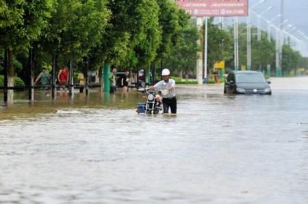 Последствия тайфуна «Непартак». Провинция Фуцзянь, Китай. Июль 2016 года. Фото: epochtimes.com