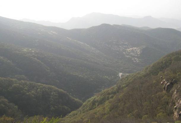 Подножие горы Суншань. Фото: Фото: Wikipedia Commons