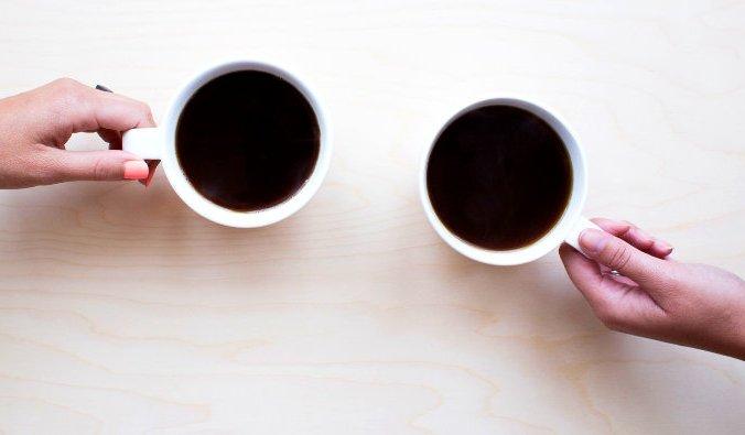 кофе, сжечь жир