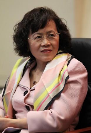 Ху Шули, основательница финансовой и бизнес-медиа-группы Caixin 25 октября 2011 г. в Пекине.