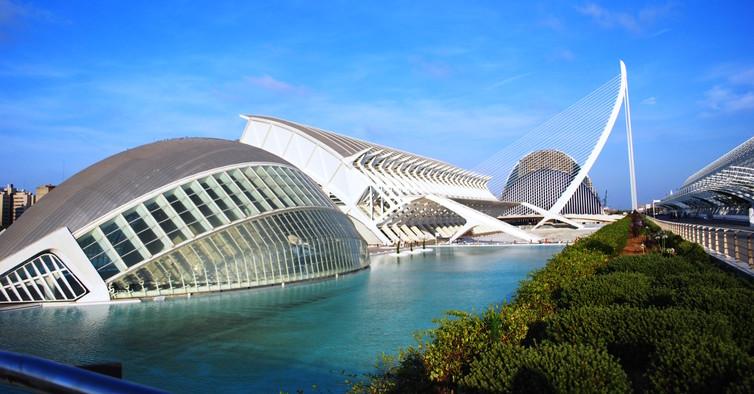 Город искусств и наук в Валенсии, Испания. Фото: Maribelle71/Flickr, CC BY