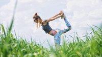 растяжка, йога