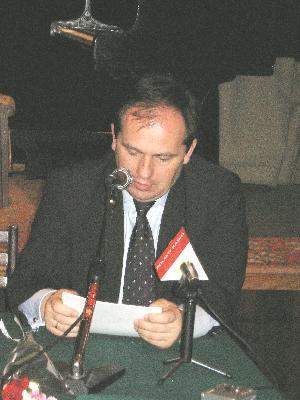 Анжей Пшевожник – генеральный секретарь Совета Польши по охране памятников борьбы и мученичества (Фото: Великая Эпоха)