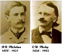 Image result for michelson morley