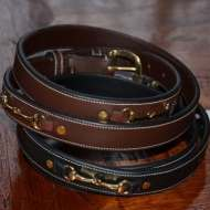 Genuine leather belt - Snaffel
