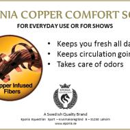 Eponia Copper Comfort Sox