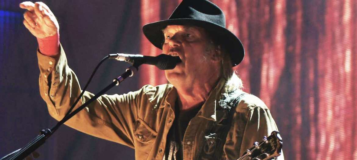 Neil Young Farm Aid 2015 Chicago