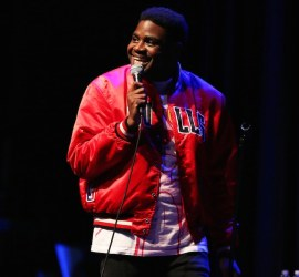Ron Funches performs at Thalia Hall in Chicago on Aug. 11, 2017.