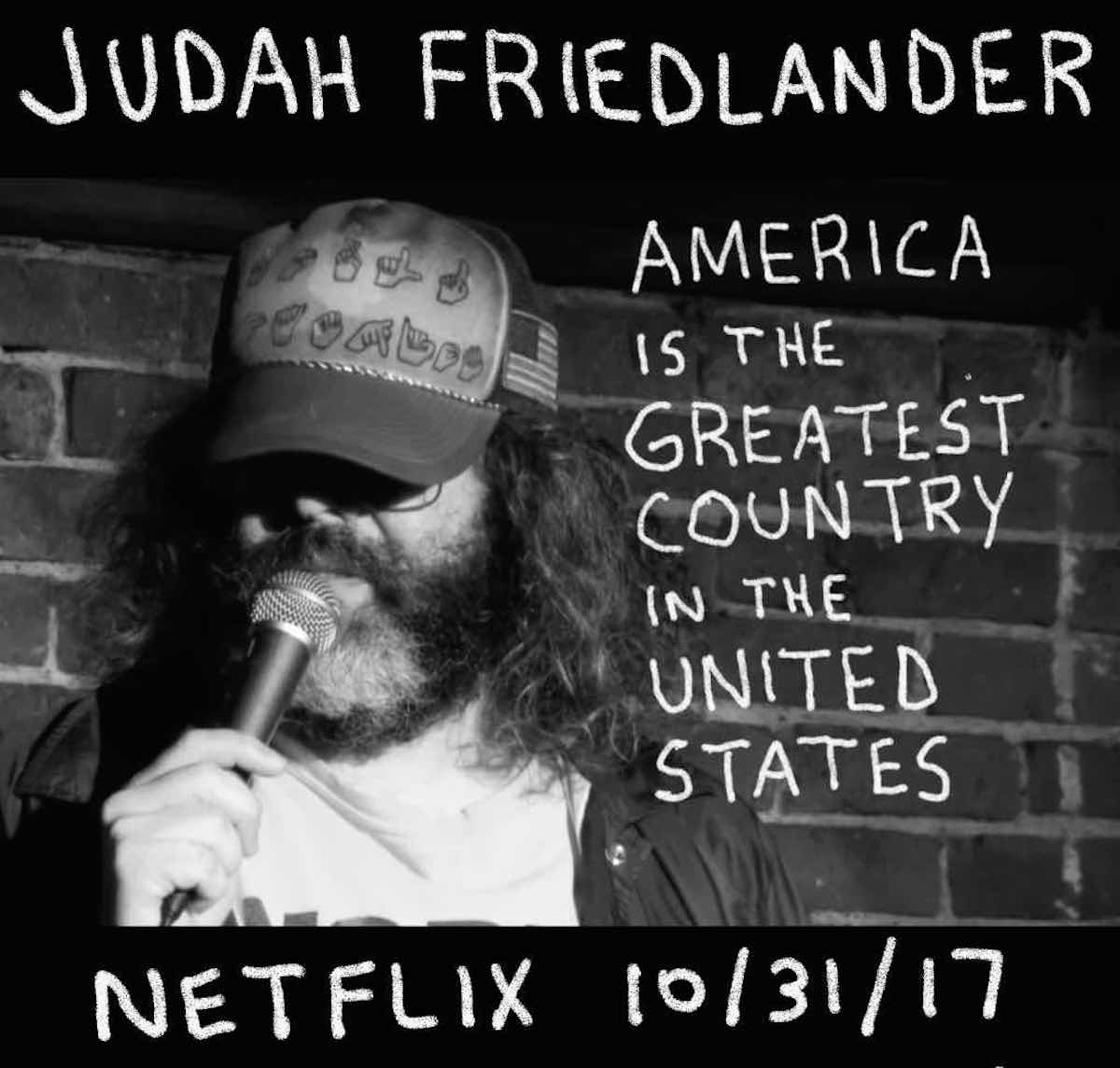 Judah Friedlander's new stand-up comedy special hits Netflix in ...