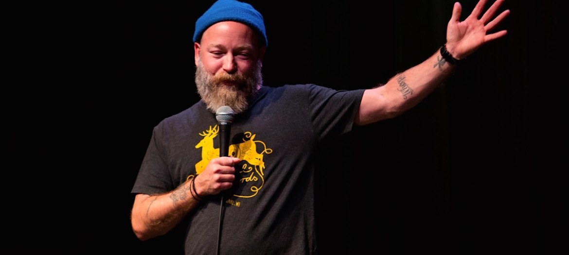 Kyle Kinane at Chicago's Thalia Hall