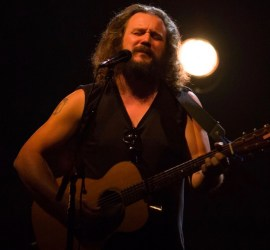 Jim James performing at The Vic Theatre in Chicago on Nov. 9, 2018
