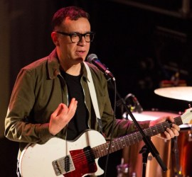 Fred Armisen performing at Metro in Chicago on March 2, 2019