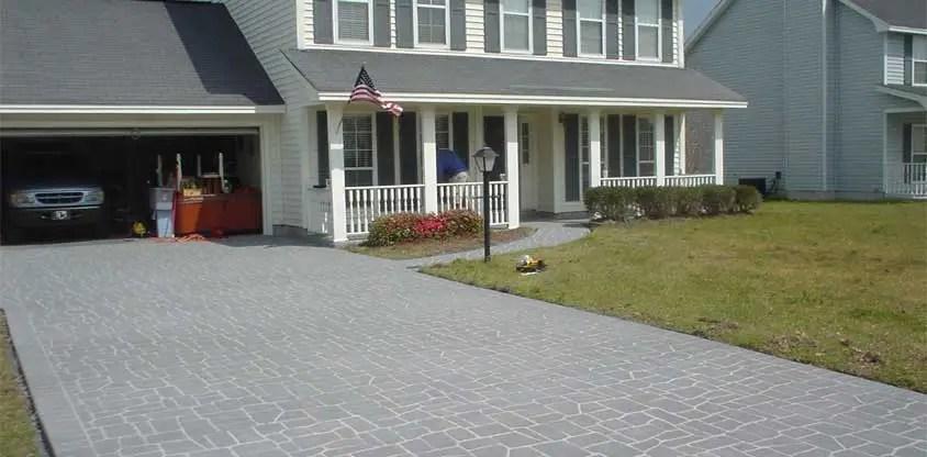 the correct way to resurface a concrete