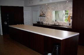 decorative concrete counter tops for kitchens and baths, Vero Beach Florida