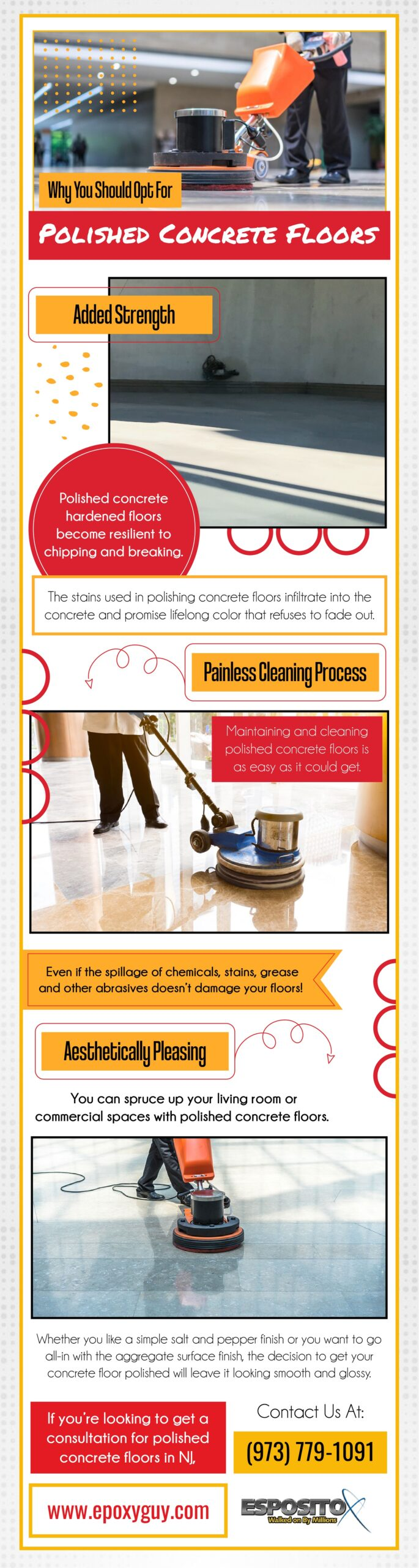 WHY You should opt for polished concrete floors - info