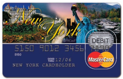 New York Child Support Card