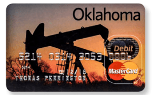 Oklahoma Way2Go Debit Mastercard