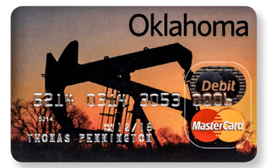 OK Debit Mastercard