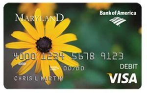 Maryland Bank of America Unemployment Card