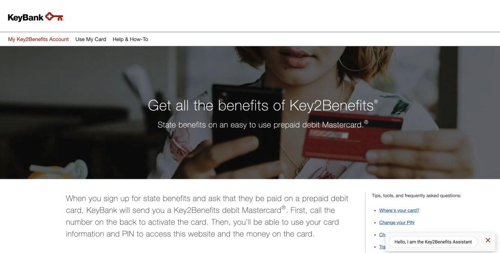 Key2Benefits Website